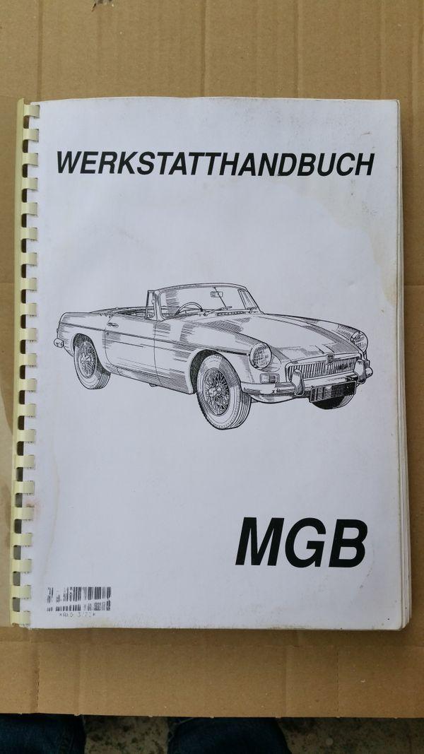 MG-B Werkstatthandbuch
