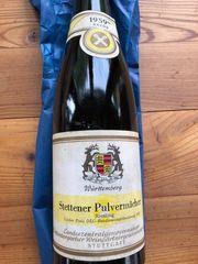 Weißwein 1959 Stettener Pulvermächer Riesling