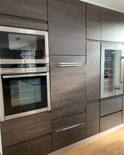 Küchenzeile Nobilia - Eiche maron 2