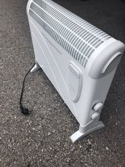 Elektro Konvektor Heizung