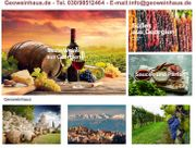 Georgische Spezialitäten wie Wein Spirituosen