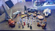 Starwars Figuren und Schiffe