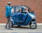 3 Rad Kabinenroller Elektroauto CityMobil