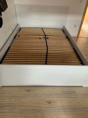 Ikea Bett weiß 140x200cm