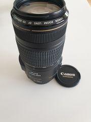Supertelezoom-Objetiv Canon EF 70-300mm 1
