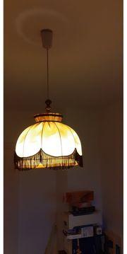 Schlafzimmerlampe beige braun E27 Nur
