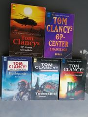 Tom Clancys - 5 Bücher zvk