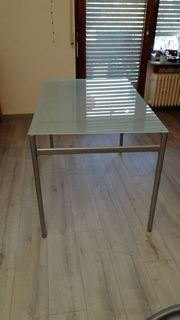 Tisch Glastisch Esstisch Gartentisch