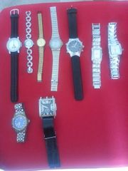 Alte Armbanduhrensammlung