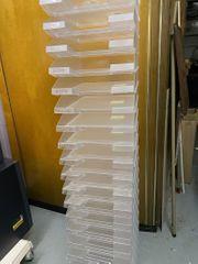 23 Briefablagen A4 transparent