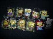 11 seltene SpongeBob Sammler Figuren