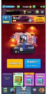 Clash Royale Account maxed
