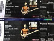 2 Tickets für Sting Forchheim