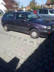VW Golf III - Altfahrzeug