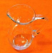 Kristall-Glas Saft- oder Wasserkrug Firma