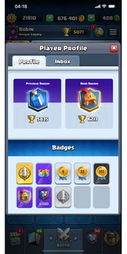 Lvl 13 Clash Royale account