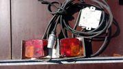 Lichtanlage für PKW-Anhänger