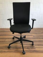 AdJust Bürodrehstuhl schwarz von Dauphin