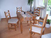 4 Stühle Esstisch 110 cm
