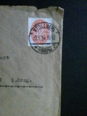 Deutsches Reich Gelaufener Brief