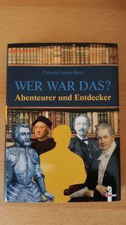Lehrbuch WER WAR DAS - Abenteurer