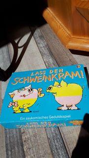 Gesellschaftsspiel Lass den Schweinkram