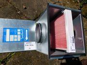 Lindab Luftfilterbox neu mit Filter