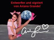 ARIANA GRANDE Original Foto signiert