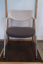 Vitra Design Stuhl in grau