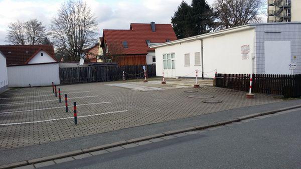 Kronach TOP Parkplatz Parkplätze Stellplatz