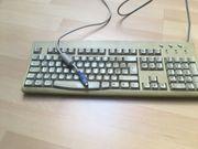 PC-Tastatur mit PS 2-Anschluss zu