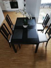 Essgruppe Tisch Stühle