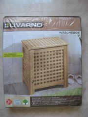 Wäschebox Walnussholz - N E U