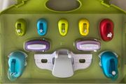 Motivlocher 9er Set im Koffer