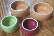 Futternapf Keramik 4x
