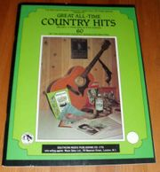 Country Texte Gitarrenakkorde All-time country