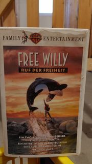 Free Willy VHS Video Kassette