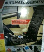 Auto - Massagematte Sitzheizung