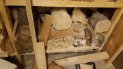 Holz zum Schnitzen und Drechseln
