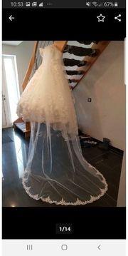 Hochzeitskleid hochzeit kleid spitze schleier