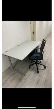 Büro Homeoffice Set Schreibtisch Stuhl