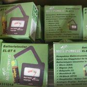 10x Batterieprüfer Batterietester für AAA