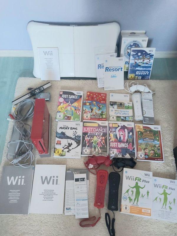 Komplettes Wii Set auch einzeln