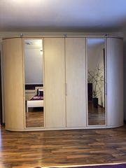 Loddenkemper Schlafzimmer - Schrank Bett Kommode