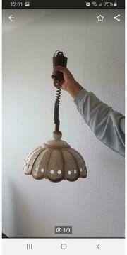 Deckenlampe aus Porzellan