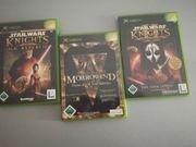 Verkaufe 3 XBOX Spiele