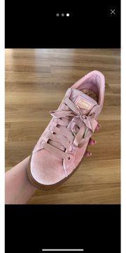 Puma Schuhe Rosa Samt