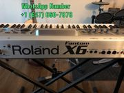 Neue Roland Fantom X6 Synthesizer