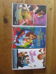 Videocassetten für Kinder