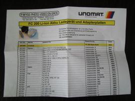 Batterieladegerät UNOMAT -International FC Series: Kleinanzeigen aus München - Rubrik Elektronik